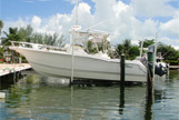 Boat in Marina which is 100 yards from front door | view 12